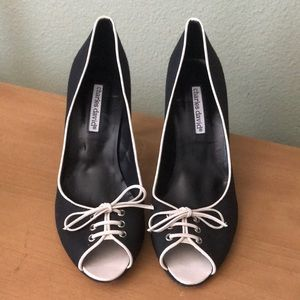 Charles David Shoes - Charles David peep toe heels